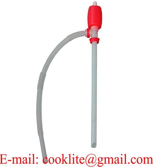Pompe à main siphon pour siphonner réservoir ou essence