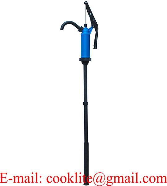 Pompa stantuffo da travaso liquidi per fusti / Pompa a mano manuale per barili e fusti