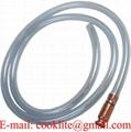 Benzinszívócső vékony sima / Kézi gázolaj benzin szivattyú pumpa / Benzinszívócső kézi pumpával