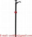 Handbediende trekpomp van PP voor thinner vitondichting / Kunststof zuiger handpomp
