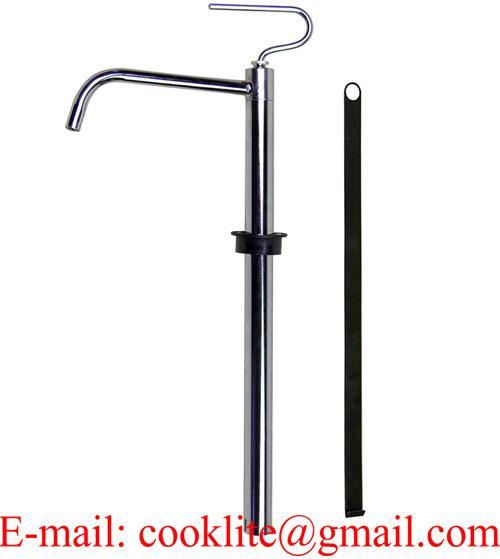 Metalen trekpomp / Stalen handpomp / Houder hevelpomp