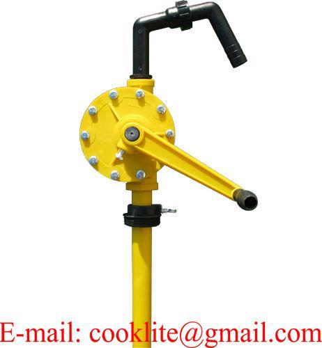 Pompa ręczna korbowa / Pompa beczkowa RP-90PT do płynów agresywnych, środków ochrony roślin, detergentów, olejów itp