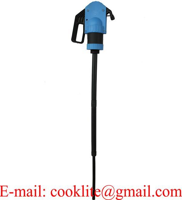 Pompa ręczna syfonowa / Pompa beczkowa do środków ochrony roślin, alkoholi, antyfryzów, AdBlue, detergentów itp