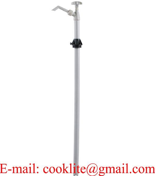 Pompa ręczna tłokowa / Pompa beczkowa do płynów agresywnych, środków ochrony roślin, detergentów, olejów itp