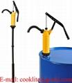 Pompa ręczna tłokowa / Pompa beczkowa P490s do płynów agresywnych, środków ochrony roślin, detergentów, olejów itp