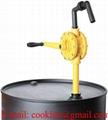 Pompa ręczna rotacyjna na korbę do substancji chemicznych