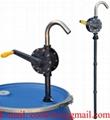 Pompka rotacyjna pompa ręczna ze Ryton do agresywnych cieczy chemicznych