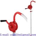Metalna ručna rotaciona pumpa za dizel gorivo i lož ulje / Ročna pretočna črpalka