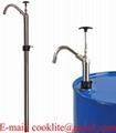 Rustfrit stål tromlepumpe / Manuel stangpumpe til brændbare væsker