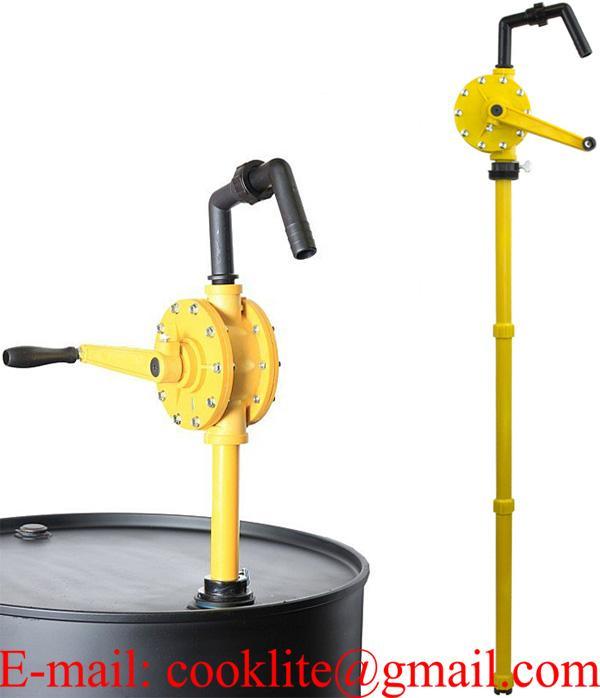 Hånddrevet rotationspumpe / Manuel tromlepumpe til ikke brændbare væsker