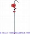 Rokas rotora eļļas sūknis no mucām / Rotējošs mucas sūknis