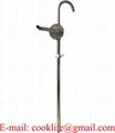 Rokas eļļas sūknis rotora tipa 205L mucām / Rokas pumpis degvielam