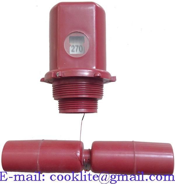 "275 Gallon 44"" Golden Gallon Tank Liquid Level Gauge"