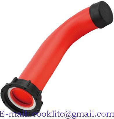 2'' Extension Drain Spout Hose IBC Water Tank Nozzle Tap Cap Valve fitting