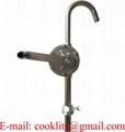 Fatpump tillverkad i rostfritt stål / Vevhandpump för överföring