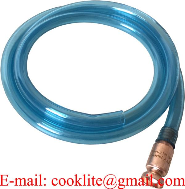 Hävertpump med peristaltikfunktion / Manuell avtappningspump med slang