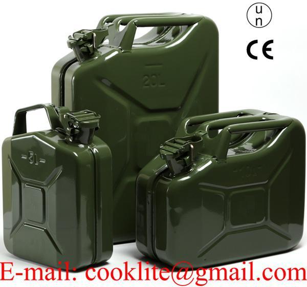 Метална туба за гориво ( бензин ) 5 10 и 20 литра