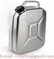 Метална алуминиева туба за гориво ( бензин ) 10 литра