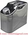 Туба от неръждаема стомана за бензин ( гориво ) 10л
