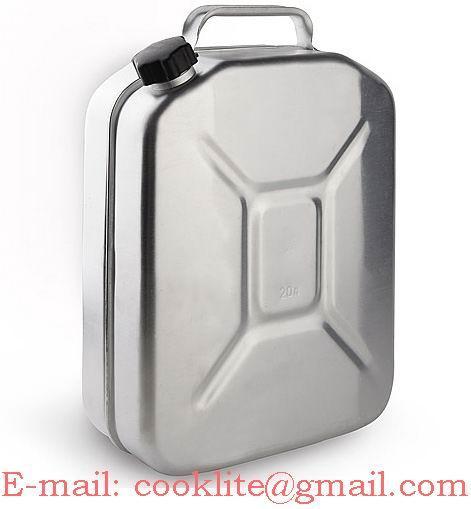 Метална алуминиева туба за гориво ( бензин ) 20 литра