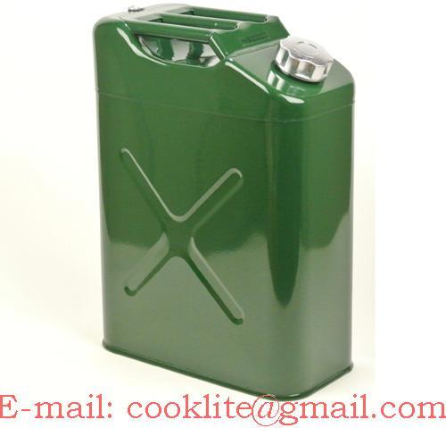 Метална туба за гориво и масло 20 литра