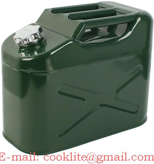 Метална туба за гориво и масло 10 литра