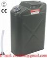 Canistra din tabla pentru combustibil 20 litri cu furtun flexibil transfer lichide