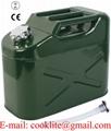 Plechový rezervný kanister 10L na benzín alebo naftu