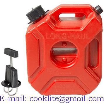 Plastový rezervný kanister 3 litrov na benzín alebo naftu