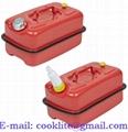 Plechový rezervný kanister 20L na benzín alebo naftu