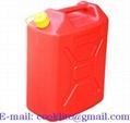 Kanister plastový na benzín alebo naftu s uzáverom 20L