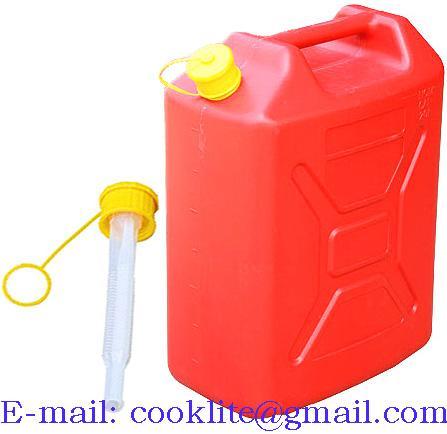 Plastový kanister na pohonné hmoty 20L