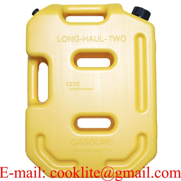 Kanister plastový na benzín alebo naftu s uzáverom 10L