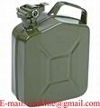 Rezervný kanister PHM 5l kovový