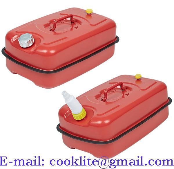Canistra plastic pentru ulei si benzina cu palnie flexibila 10L