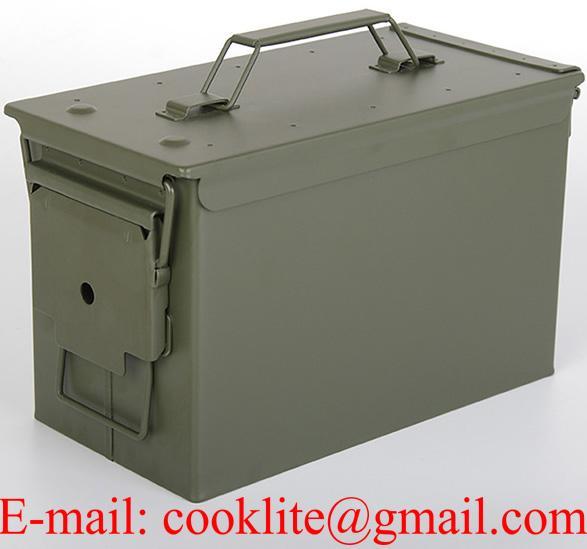 Metalinė dėžutė šovinių