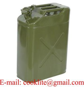 Metal Akaryakıt Benzin Bidonu 20 lt