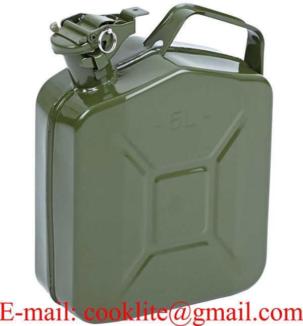Reserve kraftstoff kanister 5 Liter benzinkanister einfüllstutzen trichter treibstoff