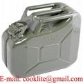 Üzemanyag szállítására tartálykanna / Benzinkanna 10L festett fém marmonkanna