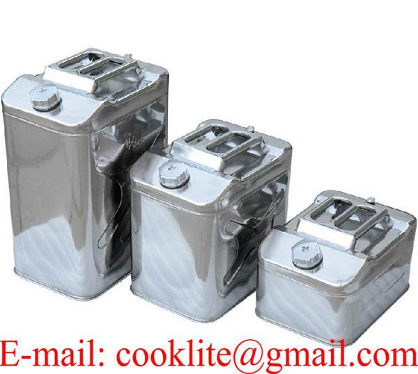 Benzineskanna marmonkanna üzemanyagkanna / Rozsdamentes acél benzines üzemanyag kanna marmon