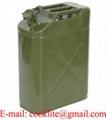 Jerrican métal hydrocarbures type US 20L