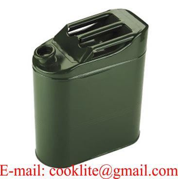 Jerrican de transport carburants en acier tôlé - 20 litres