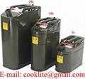 Galão metálico para combustível gasolina 5, 10 E 20 Litros