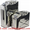 304 Stainless Steel Jerry Can Water/Fuel Storage Car 4WD Motorbike Boat