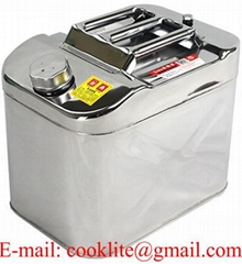Stainless Steel Jerry Can Petrol Diesel Water Container