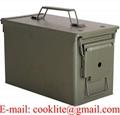 Cofre Caixa Metálica Porta Munição M2A1