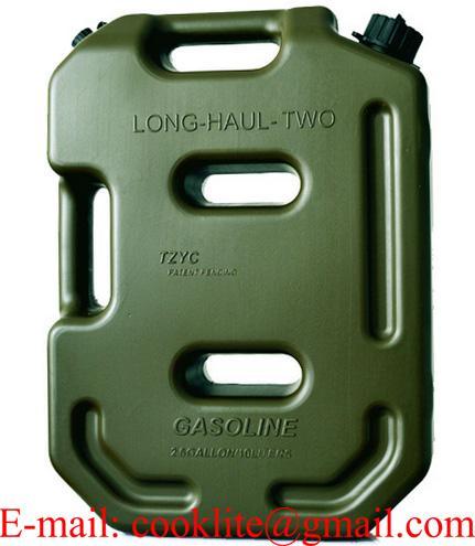 Galão bidão recipiente para transporte e abastecimento de gasolina ou combustível 10 litros