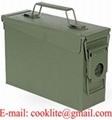 Caixa para armazenamento de munição metal verde M19A1