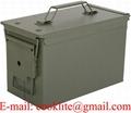 Caixa de metal para munição estanque PA108