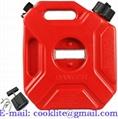Galão reservatório 5 litros para transporte e abastecimento de combustível